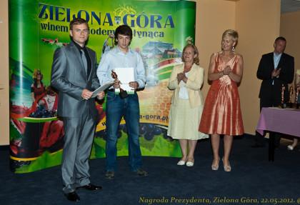 Wręczanie nagród Prezydenta Miasta