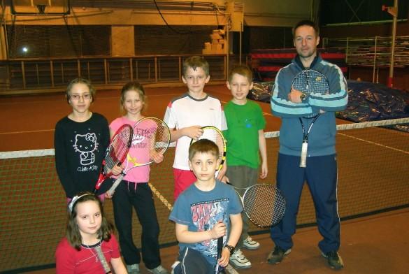 Dzieci na treningu
