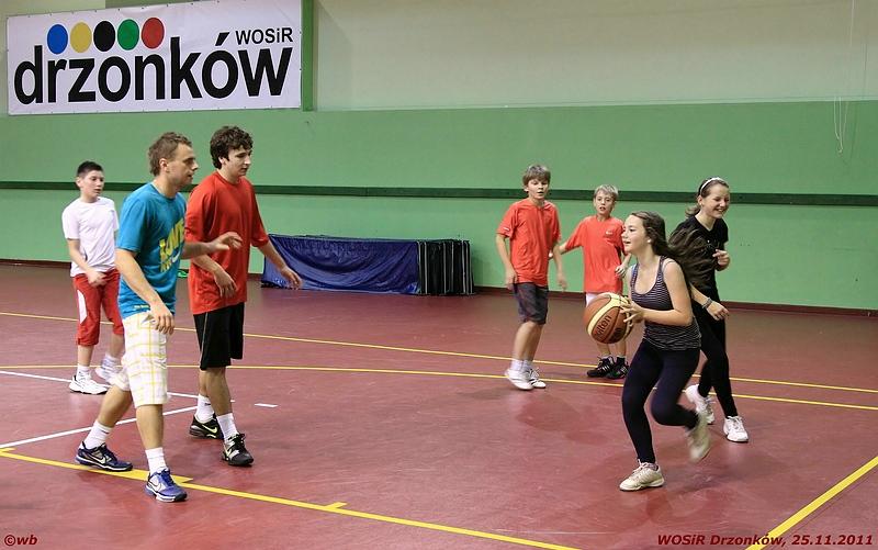 Drzonków, WOSiR, trening